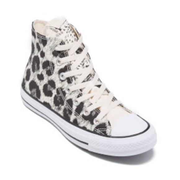 35a9b2b40398 CONVERSE Allstar High-tops- Leopard print